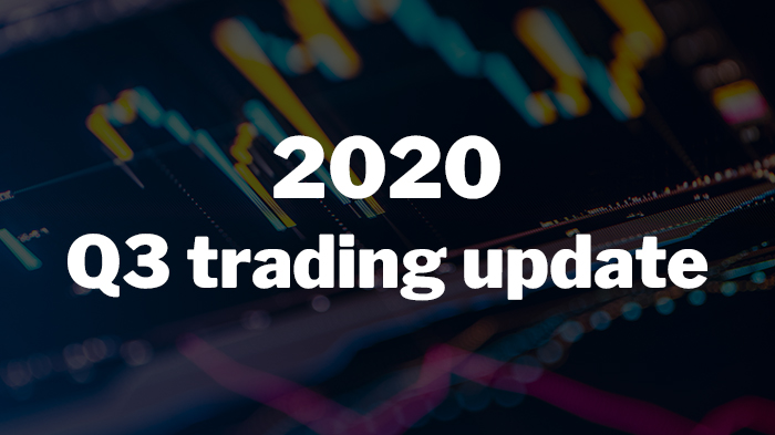2020 Q3 Trading Update