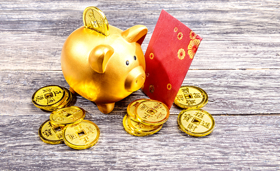 Savings for year of the pig